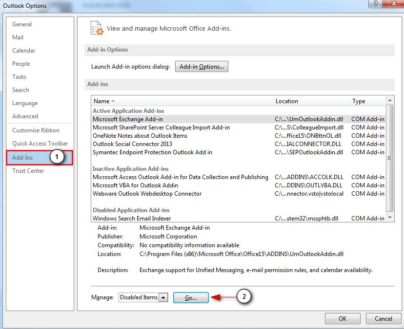 2. Tee linnuke Webware Outlook