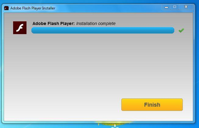 23.Flash Player on edukalt installitud 23.